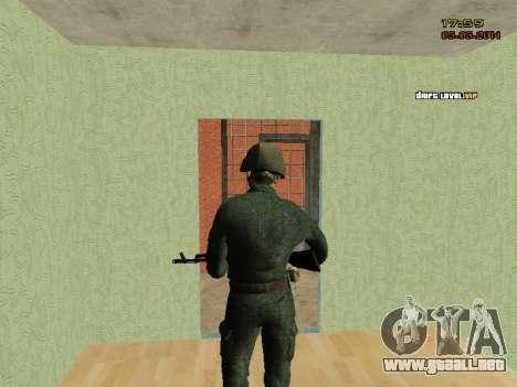 El ejército ruso moderno para GTA San Andreas sexta pantalla
