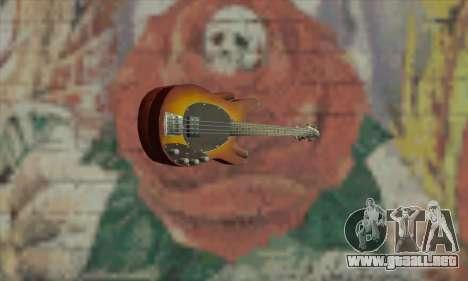 Guitar Eagle para GTA San Andreas segunda pantalla