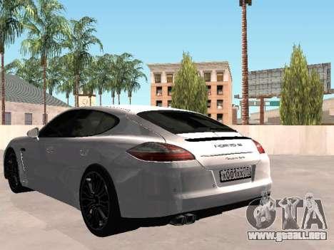 Porsche Panamera 2011 para GTA San Andreas left