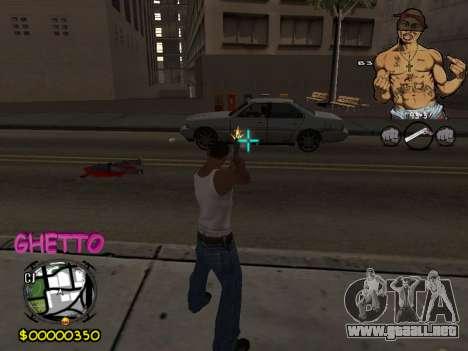 C-HUD 2pac para GTA San Andreas
