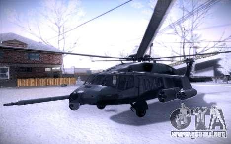 MH-X Silenthawk para GTA San Andreas left