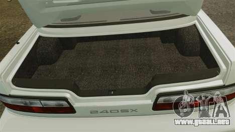 Nissan Onevia S13 [EPM] para GTA 4 vista interior