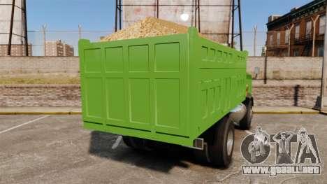 Si Buxiang Truck para GTA 4 Vista posterior izquierda