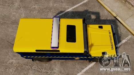 Land Rover Defender HM Coastguard [ELS] para GTA 4 visión correcta