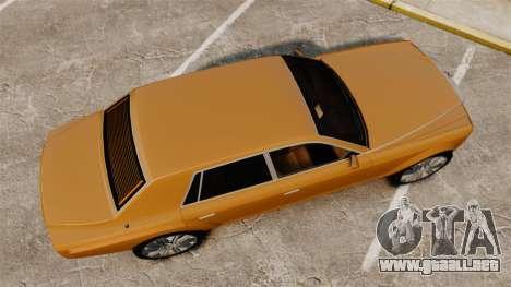 Super Diamond VIP para GTA 4 visión correcta