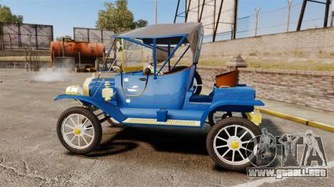 Ford Model T 1912 para GTA 4 left