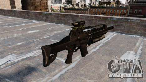 Fusil automático cicatriz para GTA 4 segundos de pantalla