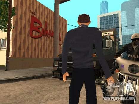 Peter Parker desde el juego Spider-Man 2 para GTA San Andreas tercera pantalla