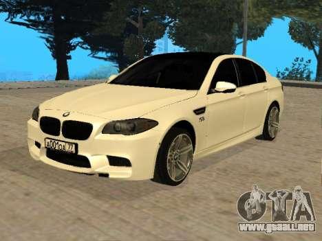 BMW M5 F10 V2.0 para GTA San Andreas