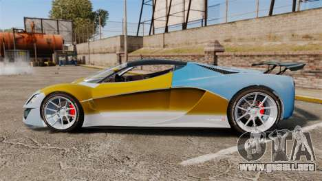 GTA V Grotti Turismo R para GTA 4 left