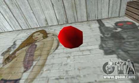 Apple Bomb para GTA San Andreas segunda pantalla