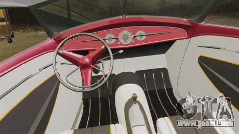 Ford Roadster 1936 Chip Foose 2006 para GTA 4 vista lateral