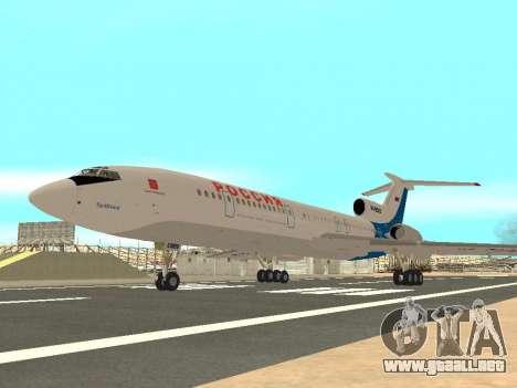 Tu-154 B-2 SCC de Rusia para la visión correcta GTA San Andreas