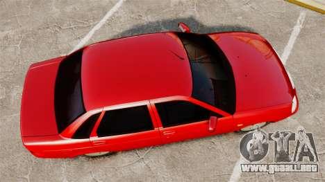 VAZ-2170 de Dubai para GTA 4 visión correcta