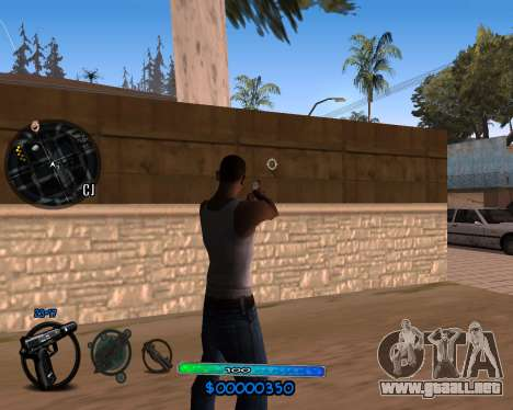 C-HUD by Vadya para GTA San Andreas segunda pantalla