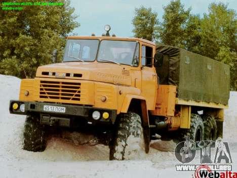 Inicio pantallas Soviética Camiones para GTA San Andreas segunda pantalla