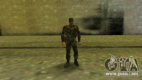La forma de la RF de las fuerzas armadas para GTA Vice City