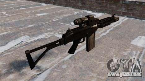 Fusil automático FAL FN DSA para GTA 4 segundos de pantalla