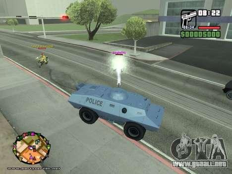 SA-MP 0.3z para GTA San Andreas décimo de pantalla