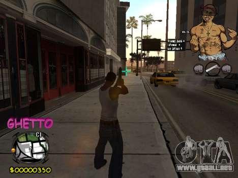 C-HUD 2pac para GTA San Andreas quinta pantalla