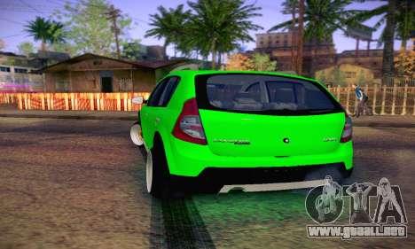 Dacia Sandero para la visión correcta GTA San Andreas