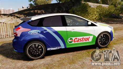 Ford Focus ST Rally para GTA 4 left