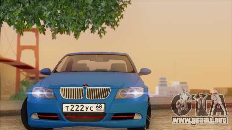 BMW 330i para visión interna GTA San Andreas