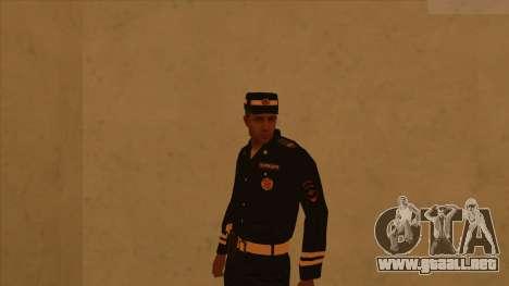 Pieles de la policía y el ejército para GTA San Andreas tercera pantalla