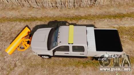GMC Sierra 2500 2011 [ELS] para GTA 4 visión correcta