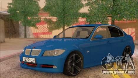 BMW 330i para GTA San Andreas