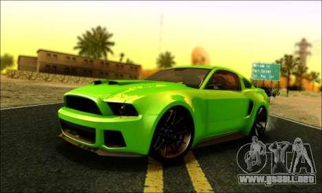 Ford Mustang GT 2013 v2 para GTA San Andreas
