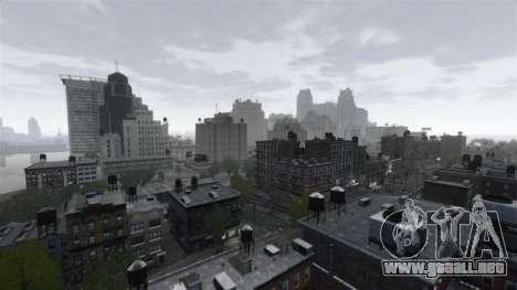 El Clima De Nueva York para GTA 4 segundos de pantalla