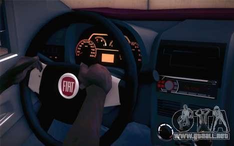Fiat Fiorino para la visión correcta GTA San Andreas