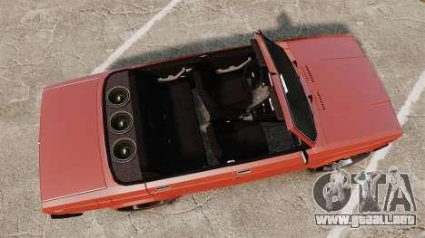 VAZ-2107 Donk Estilo para GTA 4 visión correcta