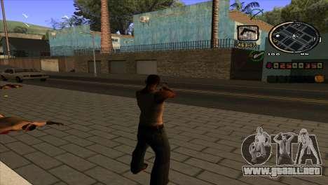 Noticias de C-HUD para GTA San Andreas segunda pantalla