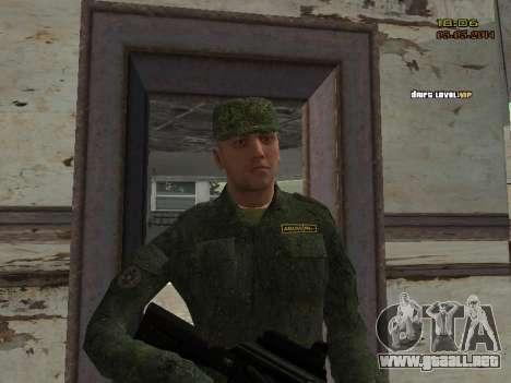 El ejército ruso moderno para GTA San Andreas décimo de pantalla