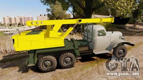 ZIL-157 GVK-32 para GTA 4 left