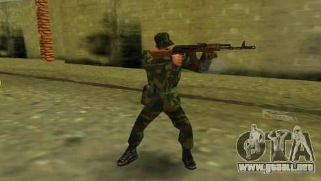 La forma de la RF de las fuerzas armadas para GTA Vice City tercera pantalla