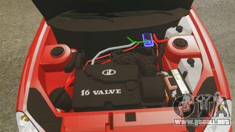 VAZ-2170 de Dubai para GTA 4 vista interior