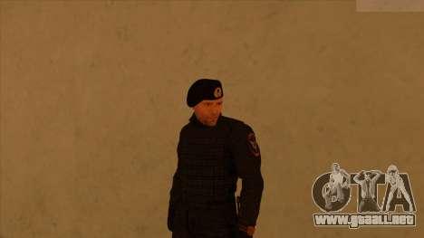 Pieles de la policía y el ejército para GTA San Andreas sexta pantalla