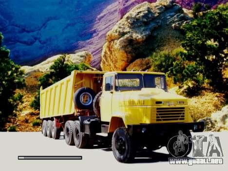 Inicio pantallas Soviética Camiones para GTA San Andreas sucesivamente de pantalla