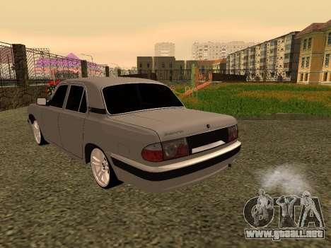 GAZ 31105 Volga para la visión correcta GTA San Andreas