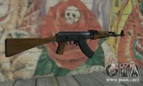 AK47 de L4D para GTA San Andreas segunda pantalla