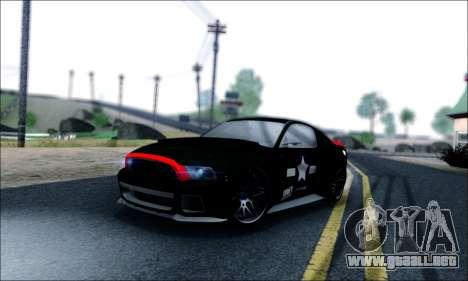 Ford Mustang GT 2013 v2 para vista inferior GTA San Andreas