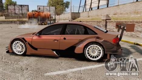 Audi A4 2008 Touring car para GTA 4 left