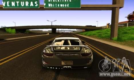 ENBSeries Exflection para GTA San Andreas octavo de pantalla