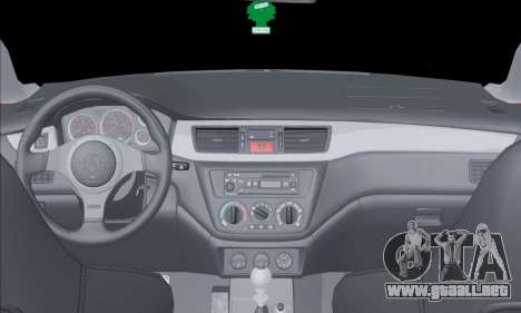 Mitsubishi Outlander Turbo 2005 para visión interna GTA San Andreas