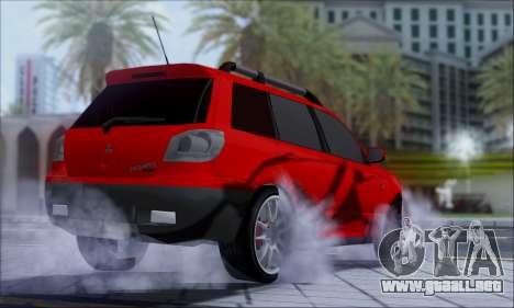 Mitsubishi Outlander Turbo 2005 para la visión correcta GTA San Andreas