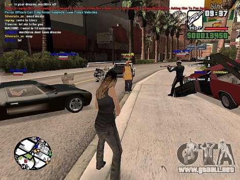 SA-MP 0.3z para GTA San Andreas segunda pantalla