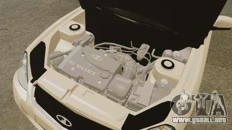 ВАЗ-2170 Instalado Antes para GTA 4 vista interior